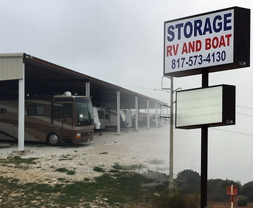 Covered RV & Boat Storage